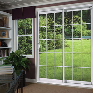Ideal Vinyl Sliding Patio Doors